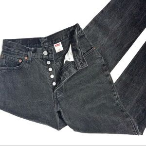 ⚡️SOLD⚡️Levi's 501 Button Fly High Waist Mom Jeans